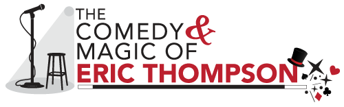 Eric Thompson Comedy & Magic logo