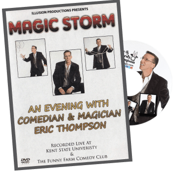 Magic Storm an evening with magician and comedian Eric Thompson on DVD